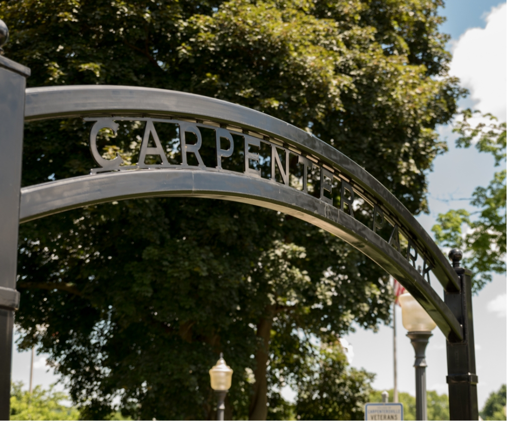 Carpenter Park sign