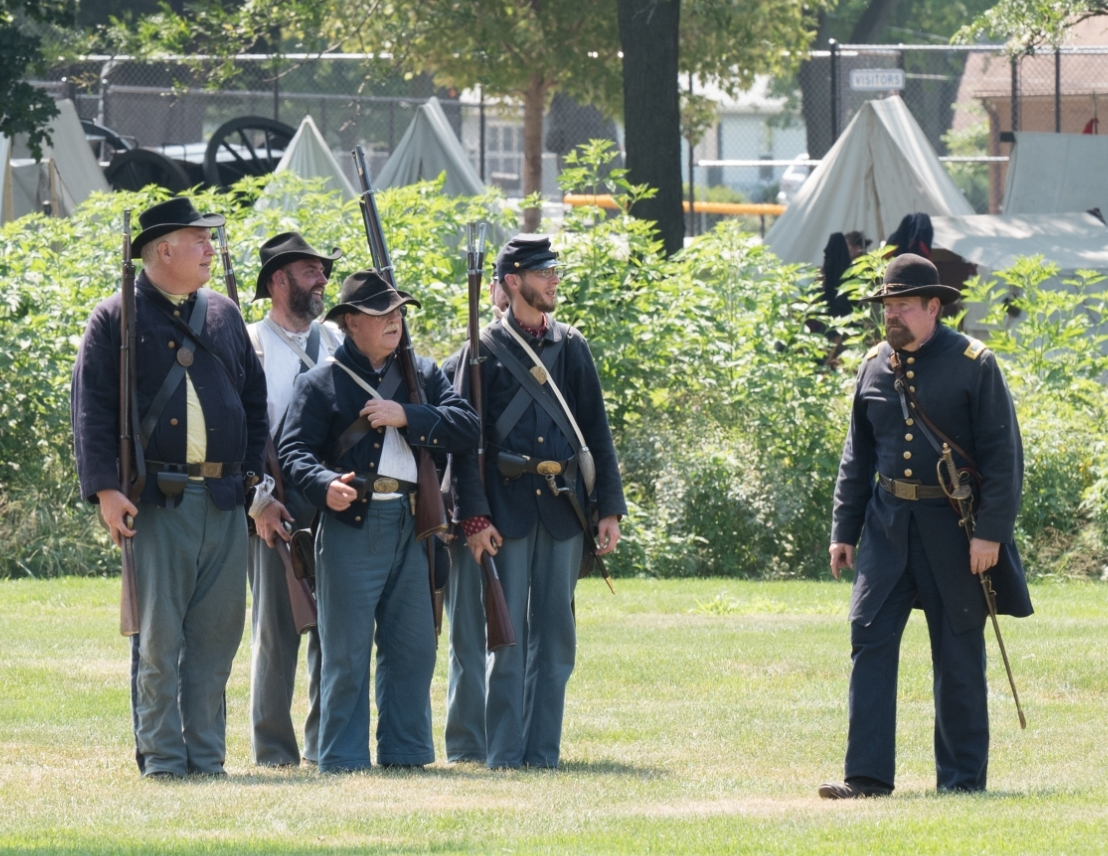 Civil War Reenactment Event